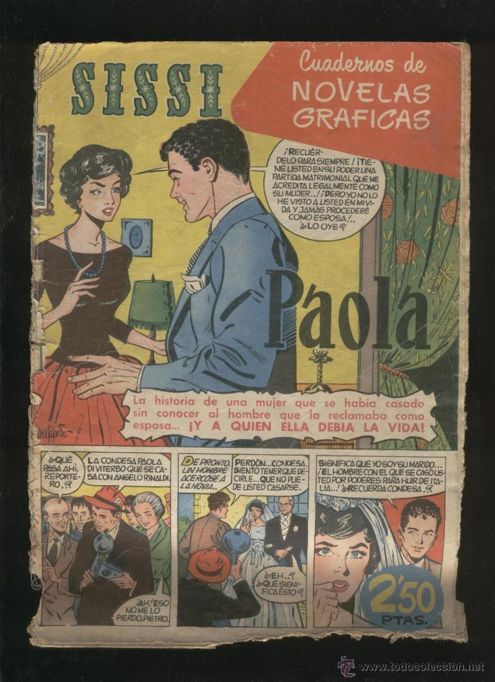 Tebeos: Lote de 7 revistas antiguas Sissi Editorial Bruguera. 1959. Comic. Ver fotos - Foto 7 - 43742337