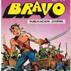 Tebeos: BRAVO. Nº 9. EL CACHORRO. Nº 5. EL FIN DE LA PARTIDA. BRUGUERA 1976. Lote 43760062