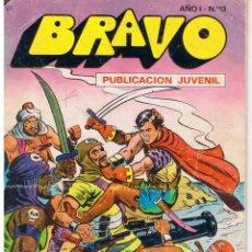 Tebeos: BRAVO. Nº 13. EL CACHORRO. Nº 7. ¡UNA VICTORIA PARA ABU - SEIP! BRUGUERA 1976. Lote 43760123