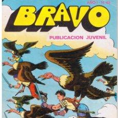 Tebeos: BRAVO. Nº 65. EL CACHORRO. Nº 33. ¡PANAMÁ EN LLAMAS!. BRUGUERA 1976. Lote 43760361