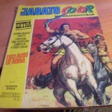 Tebeos: JABATO COLOR EXTRA Nº 1 ALBUM GIGANTE AMARILLO (BRUGUERA) (COIB31). Lote 43773218