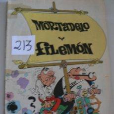 Tebeos: MORTADELO Y FILIMON LE FALTA LA PORTADA AÑO 1986. Lote 43820592