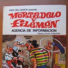 Tebeos: ASES DE HUMOR Nº 8 MORTADELO Y FILEMON AGENCIA DE INFORMACION. Lote 43831223