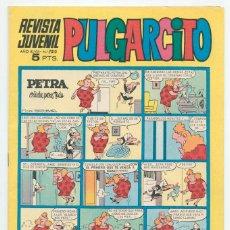 Tebeos: PULGARCITO - Nº 2010 - ED. BRUGUERA - 1969 (CON EL SHERIFF KING). Lote 43836107