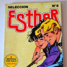 Tebeos: ESTHER * SELECCIÓN Nº 6 * 5 REVISTAS BRUGUERA. Lote 43859813