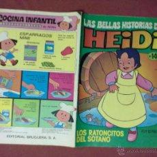 Tebeos: LAS BELLAS HISTORIAS DE HEIDI LOS RATONCITOS DEL SOTANO Nº 14. Lote 43861768