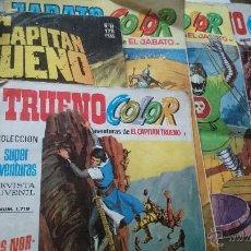 Tebeos: LOTE BRUGUERA,CAPITAN TRUENO Y JABATO (LEER). Lote 43948247