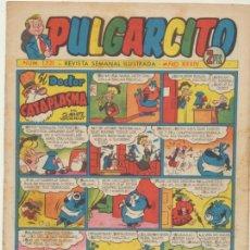BDs: PULGARCITO Nº 1221. CON INSPECTOR DAN . BRUGUERA 1952.. Lote 44000425
