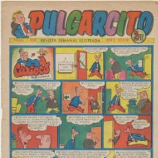 BDs: PULGARCITO Nº 1203. CON INSPECTOR DAN . BRUGUERA 1952.. Lote 44000709