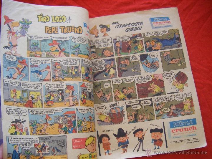 Tebeos: JML LUPY EL LOBO BONDADOSO, TELE COLOR, JESUS ULLED MURRIETA, BRUGUERA, AÑO II, Nº 94, 1964. 24PÁG. - Foto 5 - 44048558