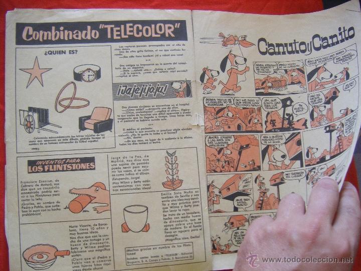Tebeos: JML LUPY EL LOBO BONDADOSO, TELE COLOR, JESUS ULLED MURRIETA, BRUGUERA, AÑO II, Nº 94, 1964. 24PÁG. - Foto 6 - 44048558