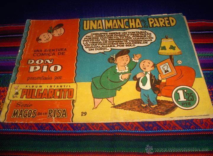 MAGOS DE LA RISA Nº 29 DON PÍO. BRUGUERA 1,25 PTS. UNA MANCHA EN LA PARED. MUY DIFÍCIL!!!!! (Tebeos y Comics - Bruguera - Cuadernillos Varios)