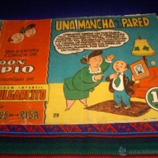Tebeos: MAGOS DE LA RISA Nº 29 DON PÍO. BRUGUERA 1,25 PTS. UNA MANCHA EN LA PARED. MUY DIFÍCIL!!!!!. Lote 44069776