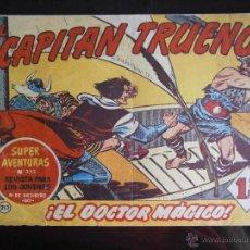 Tebeos - EL CAPITAN TRUENO Nº 213 ORIGINAL EDITORIAL BRUGUERA - 44097987