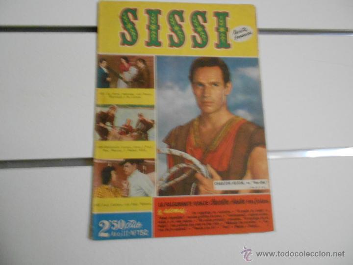 SISSI - REVISTA JUVENIL FEMENINA Nº 132 (Tebeos y Comics - Bruguera - Sissi)