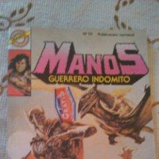 Tebeos: MANOS ,GUERRERO INDÓMITO Nº 16 ABISMO DE TERROR EDITORIAL BRUGUERA 1984. Lote 50488064