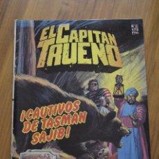 Tebeos: EL CAPITÁN TRUENO Nº81 ¡CAUTIVOS DE TASMAN SAJIB!. Lote 44194417