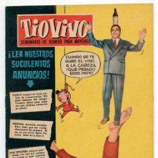 Tebeos: TIO VIVO - Nº 54 - D.E.R. - CRISOL - 1958. Lote 44213835