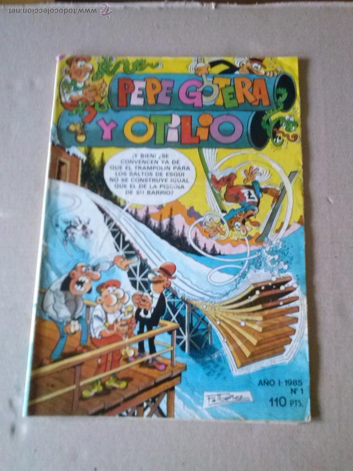 PEPE GOTERA Y OTILIO Nº 1 - BRUGUERA - COL 4 (Tebeos y Comics - Bruguera - Cuadernillos Varios)