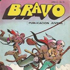 Tebeos: LOTE DE 14 NUMEROS - BRAVO - BRUGUERA. Lote 44259382