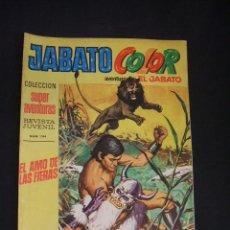 Tebeos: JABATO COLOR - Nº 7 - SEGUNDA EPOCA - EL AMO DE LAS FIERAS - BRUGUERA - . Lote 44297817