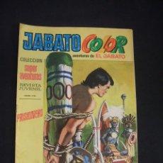 Tebeos: JABATO COLOR - Nº 8 - SEGUNDA EPOCA - PRISIONERO - BRUGUERA - . Lote 44297948