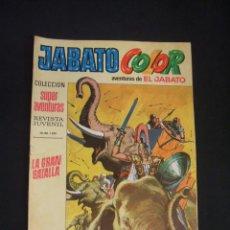 Tebeos: JABATO COLOR - Nº 10 - SEGUNDA EPOCA - LA GRAN BATALLA - BRUGUERA - . Lote 44298087