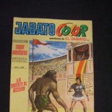 Tebeos: JABATO COLOR - Nº 159 - PRIMERA EPOCA - LA MUERTE AL ACECHO - BRUGUERA - . Lote 44298347