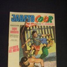 Tebeos: JABATO COLOR - Nº 52 - PRIMERA EPOCA - LA COSTA DEL MIEDO - BRUGUERA - . Lote 44298968