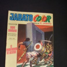 Tebeos: JABATO COLOR - Nº 42 - PRIMERA EPOCA - EL MANDARIN DE HIERRO - BRUGUERA - . Lote 44299091