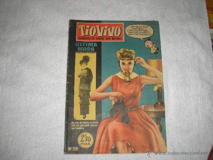 TIO VIVO Nº 56 EPOCA 1ª (Tebeos y Comics - Bruguera - Tio Vivo)
