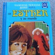 Tebeos: ESTHER Y SU MUNDO -- TOMO 1 -- FAMOSAS NOVELAS SERIE AZUL -- 4ª EDICION 1985 -- BRUGUERA --. Lote 97381408
