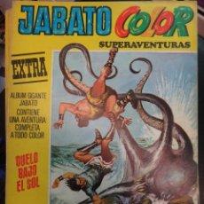 Tebeos: JABATO COLOR EXTRA , NUMERO 25 , SEGUNDA EPOCA , BRUGUERA , ORIGINAL. Lote 44451029