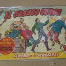 BDs: EL COSACO VERDE Nº 142, DE LOS ÚLTIMOS. BRUGUERA 1960.. Lote 44505385
