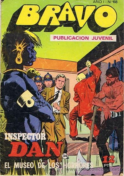 CÓMIC BRAVO N.68 (Tebeos y Comics - Bruguera - Bravo)