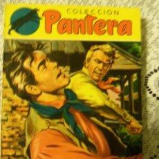 Tebeos: COLECCION PANTERA - Nº 77 - ESPUELAS Y CORAZONES, POR ANTONHY MURPHY - 1RA. EDIC. ESPAÑA - 1956. Lote 44718915