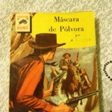 Tebeos: COLECCION BISONTE - Nº 617 - MASCARA DE POLVORA, POR A. ROLCEST - 1RA. EDIC. - 1961 - ARGENTINA. Lote 44718921
