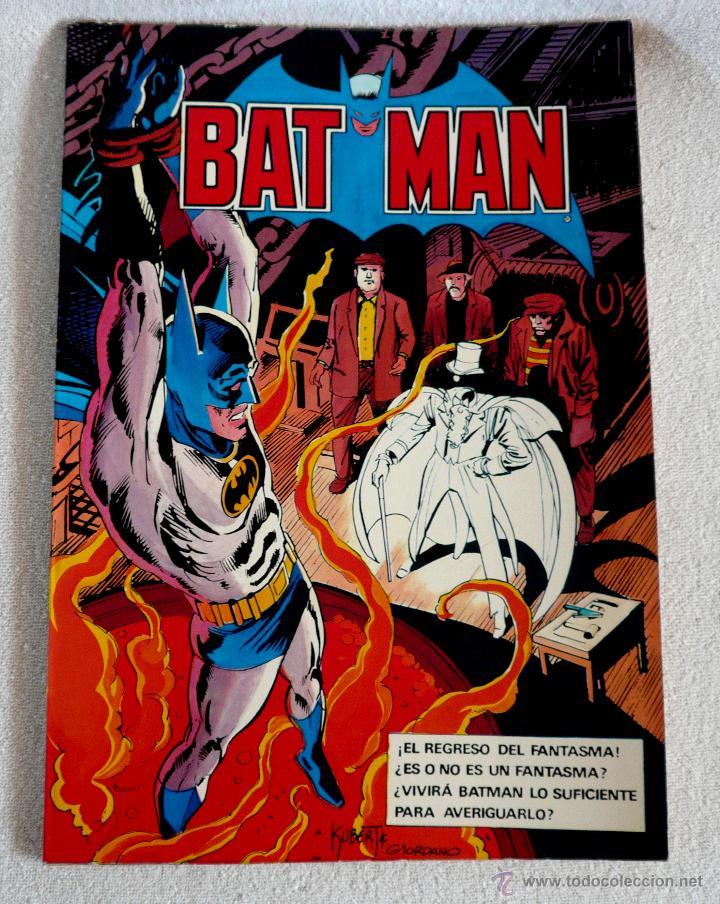 COMIC - BAT MAN - Nº 6 - 1ª EDICIÓN 1980 (Tebeos y Comics - Bruguera - Otros)