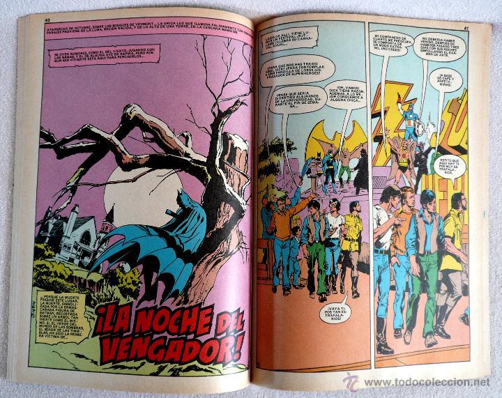 Tebeos: COMIC - BAT MAN - Nº 6 - 1ª EDICIÓN 1980 - Foto 3 - 44768640
