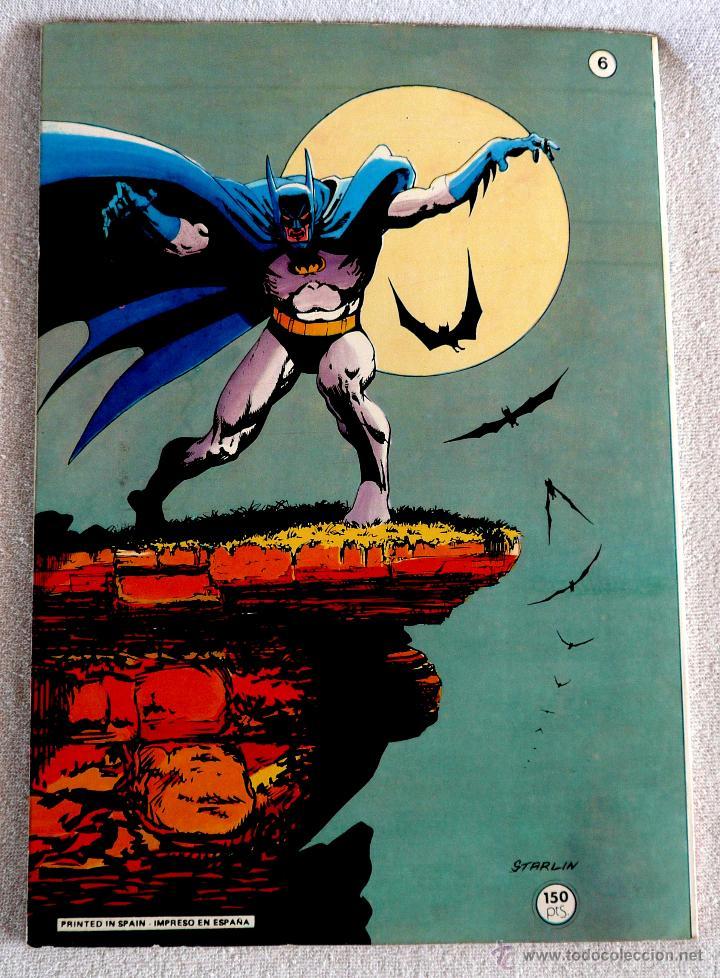 Tebeos: COMIC - BAT MAN - Nº 6 - 1ª EDICIÓN 1980 - Foto 4 - 44768640