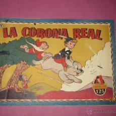 Tebeos: ANTIGUO TBO DE LA COLECCIÓN CAPERUCITA Nº 28 LA CORONA REAL DE EDITORIAL BRUGUERA - AÑO 1951. Lote 44784012