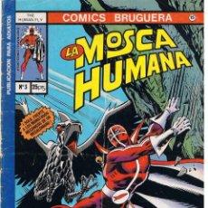 Tebeos: COMICS BRUGUERA. Nº 15. LA MOSCA HUMANA. Nº 3. BRUGUERA. Lote 44814349