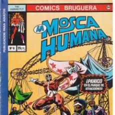 Tebeos: COMICS BRUGUERA. Nº 24. LA MOSCA HUMANA. Nº 6. BRUGUERA. Lote 44814395