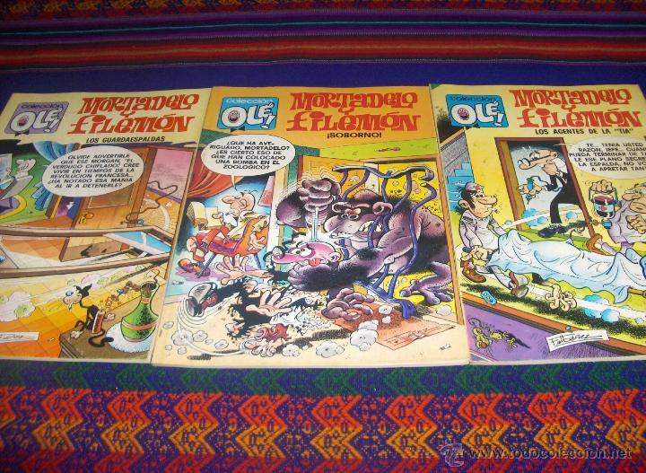 OLÉ NºS 124, 141 Y 145. BRUGUERA 3ª TERCERA EDICIÓN 90 PTS. 1981. BUEN ESTADO. (Tebeos y Comics - Bruguera - Ole)