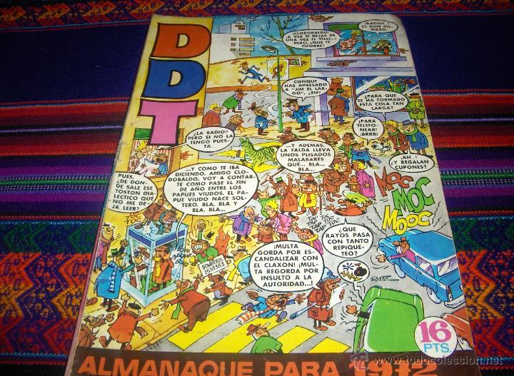 DDT ALMANAQUE 1972. BRUGUERA 16 PTS. (Tebeos y Comics - Bruguera - DDT)