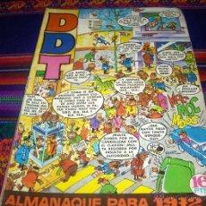 Tebeos: DDT ALMANAQUE 1972. BRUGUERA 16 PTS.. Lote 44830819