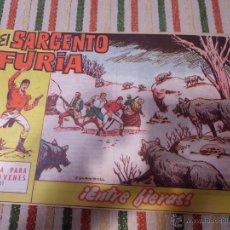 Livros de Banda Desenhada: EL SARGENTO FURIA Nº 21 BRUGUERA. Lote 44842592