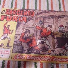 Livros de Banda Desenhada: EL SARGENTO FURIA Nº 13 BRUGUERA. Lote 44842746