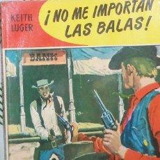 Tebeos: NO ME IMPORTAN LAS BALAS, POR KEITH LUGER - COLECCIÓN KANSAS - Nº 170 - 1961 - 1RA. EDICIÓN!. Lote 44848753