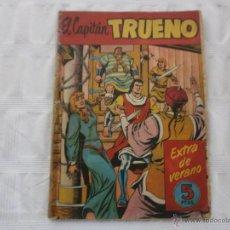 Tebeos: CAPITÁN TRUENO EXTRA DE VERNAO 1958 BRUGUERA ORIGINAL. Lote 44856094